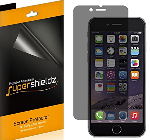 [2 Pack] SUPERSHIELDZ- Privacy Anti-Spy Screen Protector Shield For Apple iPhone 6 4.7