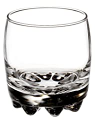 Bormioli Rocco Galassia Tumbler Rocks Glasses, Set of 6, Gift Boxed by Bormioli Rocco