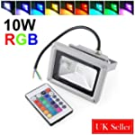 Amzdeal Waterproof 10W RGB 16 Color C...