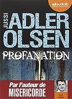 Profanation: Livre audio - 2 CD MP3 - 572 Mo + 567 Mo