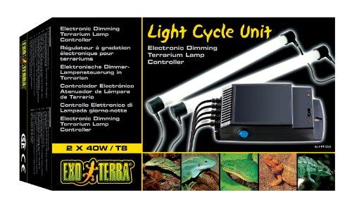 Exo Terra Electronic Dimming Terrarium Lamp Controller, 2 X 20 Watts Ccsaus
