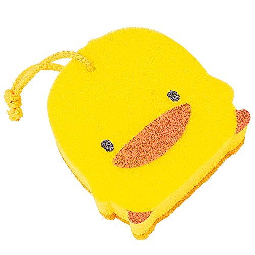 Kid's Yellow Duckling Exfoliating Sponge - 1