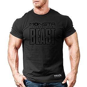 Monsta Clothing Co. Men's Monsta-BEAST (TEE194) T-shirt