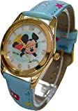 Picture Of Disney Watch For Kids Mickey Mouse Drawing.Small Analog Display. Adjustable Band 8″L.