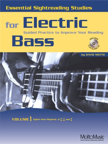 Essential Sightreading Studies for Electric Bass Volume 1