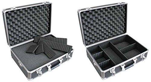 TS-Optics-Fotokoffer-46x33x15cm-abschliebar-mit-Rasterschaumstoffeinlage-und-5-Trennfchern-anstatt-2-fr-mehr-Flexibilitt-Flexkoffer
