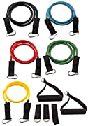 Fit Spirit? Fitness Exercise Resistance Bands - Set of 5