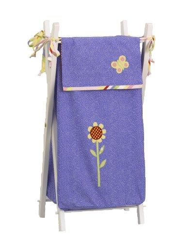 Cotton Tale Designs Spring Fling Hamper, Pink/Blue