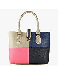 Pink Rose - Elegant Collection Multicolour Charm Handbag