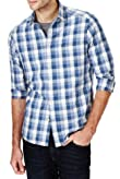 Utility Pure Cotton Grid Checked Shirt [T25-2412M-S]
