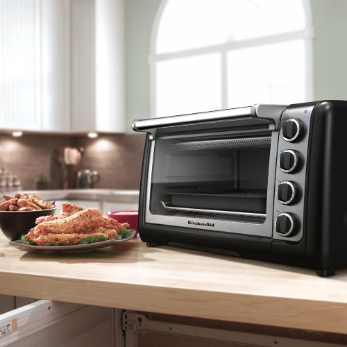 KitchenAid KCO111OB Countertop Oven, Onyx Black, Appliances