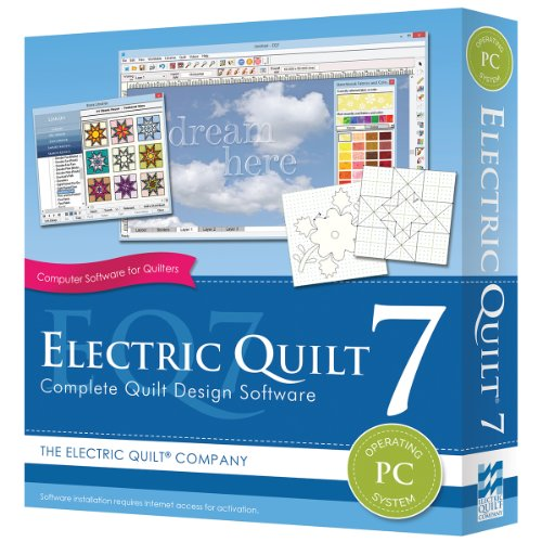 New Electric Quilt 7 For Pc- New