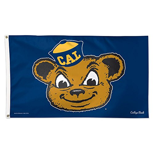 Cal Bears Official NCAA 3' x 5' Vault Deluxe Banner Flag by Wincraft 086181