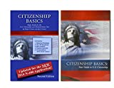 img - for New Citizenship Basics Textbook, DVD, and Audio CD U.S. Naturalization Test Study Guide 100 Civics Questions with New & Updated N-400 Application Questions: Pass the Citizenship Interview with the New Textbook, CD, and DVD book / textbook / text book