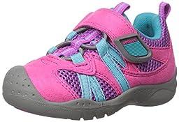 pediped Flex Renegade Water Shoe (Toddler/Little Kid), Pink, 22 EU(6-6.5 E US Toddler)