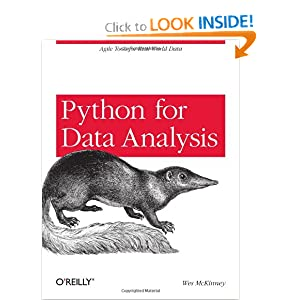 Python for Data Analysis [Paperback]
