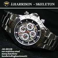 J HARRISON 【ジョン ハリソン】 手巻き付き自動巻き腕時計  JH-003SB