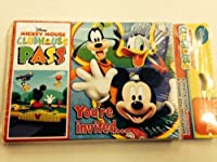 Mickey Mouse Clubhouse Party Invitations and Thank You Notes from Hallmark