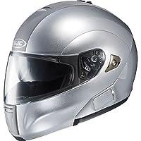 HJC Metallic Men's IS-MAX BT Bluetooth Street Bike Motorcycle Helmet - Light Silver / Medium by HJC