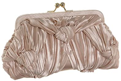 La Regale 25326 Clutch,Champagne,one size