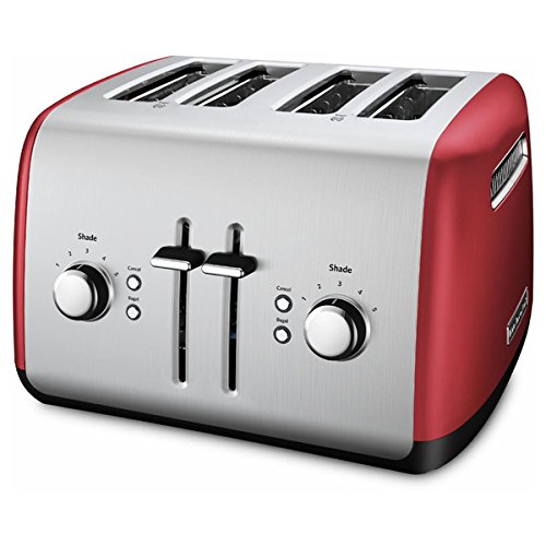 Empire Red 4-slice Metal Toaster by KitchenAid, KMT4115ER (Kitchenaid Toaster Oven Tray compare prices)