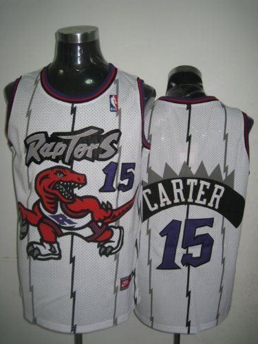 Vince Carter Nba Toronto Raptors White Basketball Jersey 50/large
