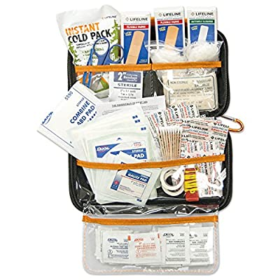 Lifeline Realtree Hard-Shell Foam First Aid Kit 121 Piece from Lifeline