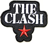 THE CLASH Music Band Logo Jacket T shirt Patch Sew Iron on Embroidered Badge Sign Costum