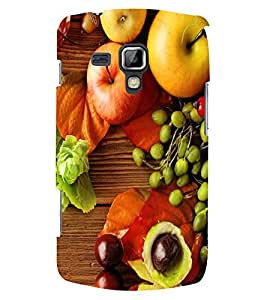 PRINTSWAG FRUITS Designer Back Cover Case for SAMSUNG GALAXY S DUOS 2 S7582