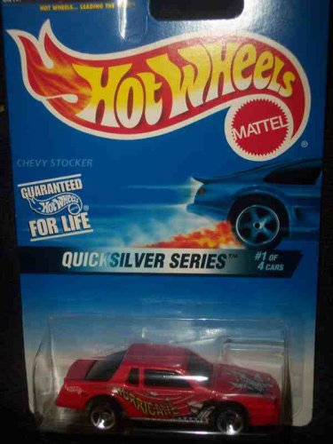 Quicksilver Series #1 Chevy Stocker Unpainted Base Small Rear Wheel #545 Collectible Collector Car Hot Wheels