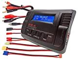 B680AC AIR Dual Power (6Amps, 80Watts): LiPo, LiIon, LiFe, NiCd, NiMh AC/DC Balancing Battery Charger w/ Deans T-Plug and more