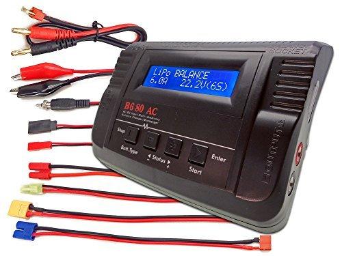 B680AC AIR Dual Power (6Amps, 80Watts): LiPo, LiIon, LiFe, NiCd, NiMh AC