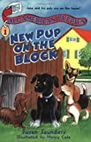 All-American Puppies #1: New Pup on the Block (0064408841) by Saunders, Susan