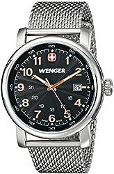 Wenger Men's Urban Classic Watch with Mesh Bracelet