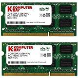 Komputerbay 8GB (2x 4GB) DDR3 SODIMM (204 pin) 1066Mhz PC3 8500 for Apple 8 GB