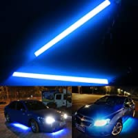 AutoStuff Universal Daytime Running Lights for Cars (Ice Blue)