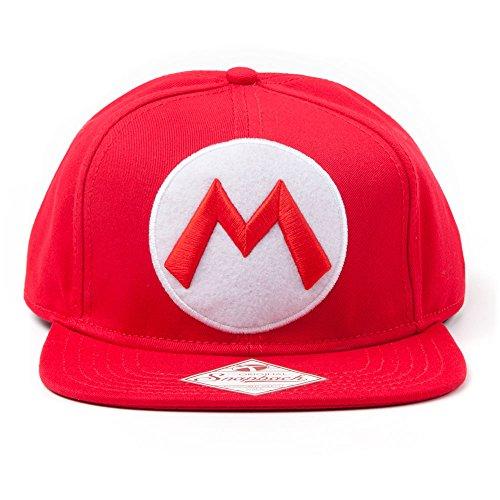 Nintendo Baseball Cappellino M Logo Bioworld