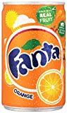 Fanta Orange Soft Drink Can 150 ml (Pack of 24)