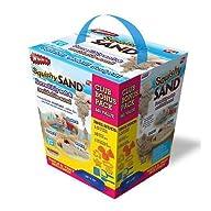 Whamo Squishy Sand Bonus Pack Exclusive 10 PC Tool Set/Inflatable Storage Tray