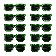 8-Bit Sunglasses Party Bag Fillers – 10 Pairs of Sunglasses – Birthday Party Favors