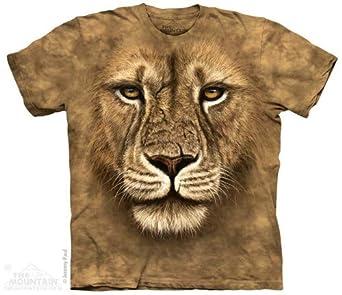 The Mountain T-Shirt Lion Guerrier Adulte 3XL