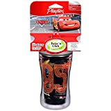 Playtex Baby Insulator, Spill-proof 9 Oz Cup: Disney Cars Black Cup Lightning Mcqueen 95