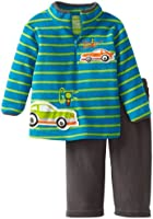 Watch Me Grow! by Sesame Street Baby-boys Newborn Go Stop Cars Pullover and Pant