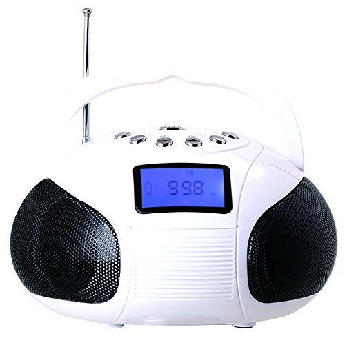 august-se20-portable-alarm-clock-radio-with-bluetooth-speaker-mini-mp3-stereo-system-with-card-reade
