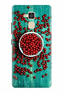Noise Designer Printed Case / Cover for Asus ZenFone 3 Max ZC520TL / Graffiti & Illustrations / Cherry On Wood