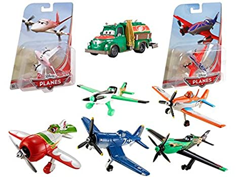 Mattel - 0302009 - Maquette D'aviation - Miniature - Planes - Modèle Aléatoire