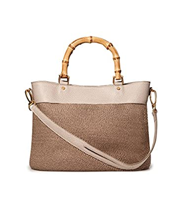 Eric Javits Inc Analu Handbag - Bark