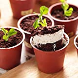 DIY Cake Baking Utensils Pot Shape Cake Cup Muffin Liners With Spoons Cover