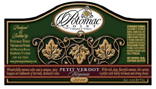 2010 Potomac Point Petit Verdot 750 Ml