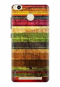 Noise Printed Back Cover Case for Redmi 3S Prime / 3s Plus Designer Case cover Patterns & Ethnic / Stripes Design (GD-237)